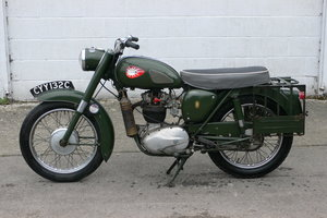 1965 BSA B40 Star 350