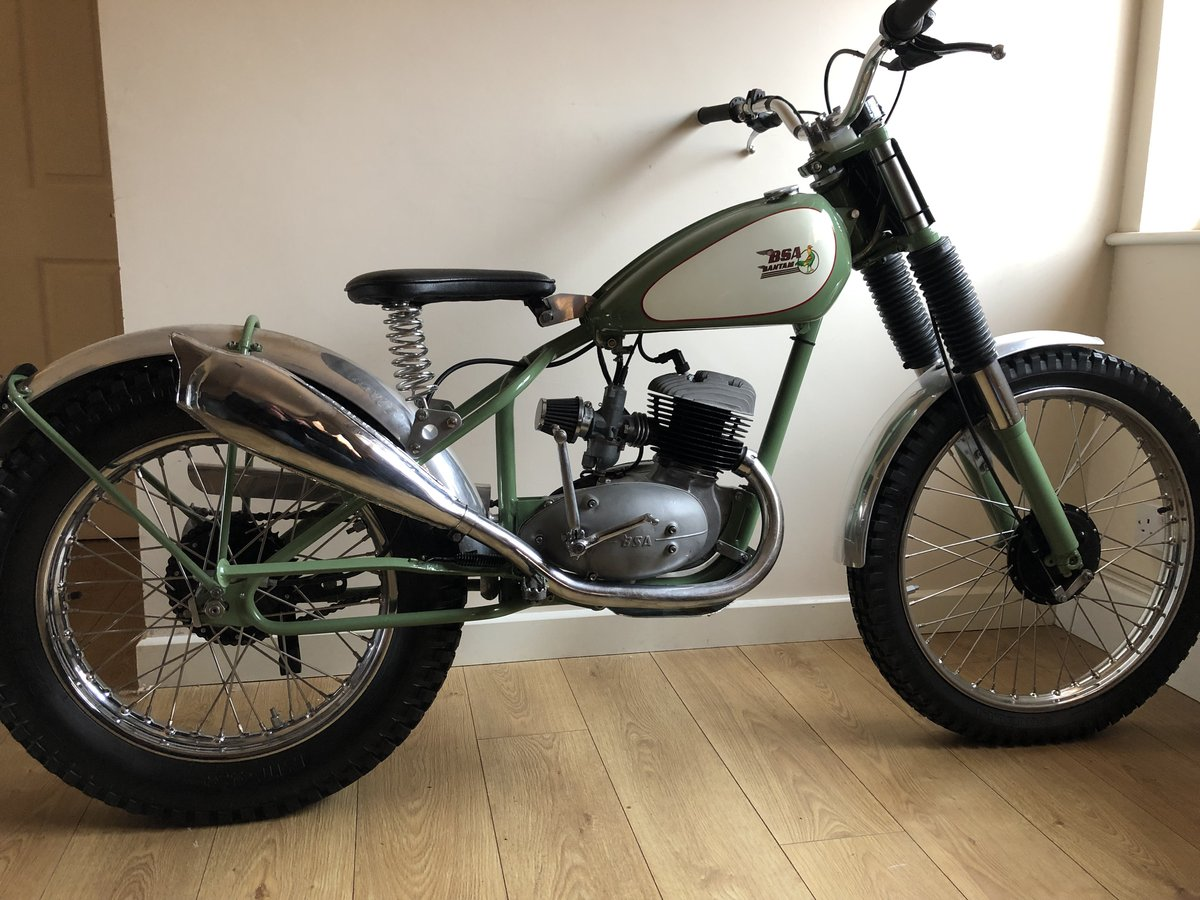 1955 BSA BANTAM RIGID PRE 65 TRIALS VERY TRICK £4995 OFFERS PX For Sale (picture 1 of 5)