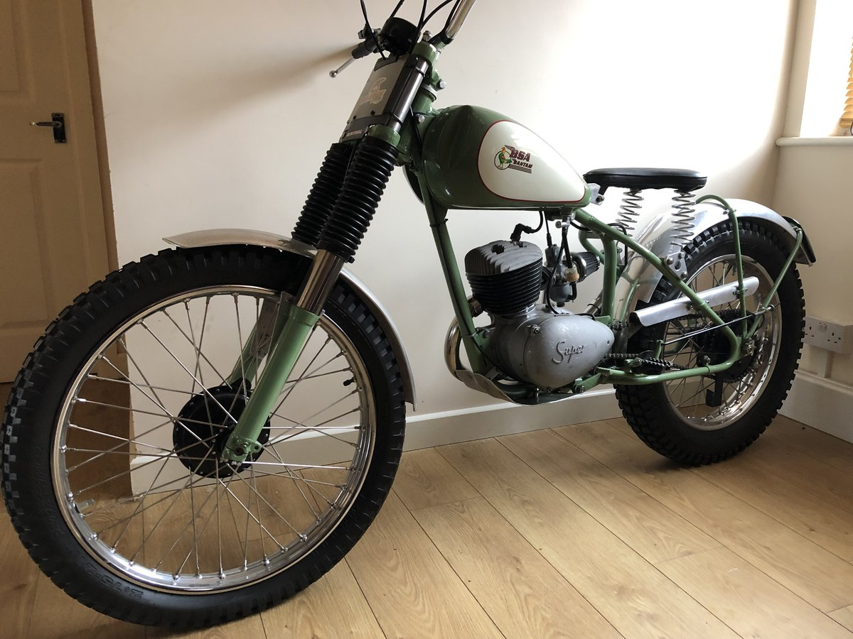 1955 BSA BANTAM RIGID PRE 65 TRIALS VERY TRICK £4995 OFFERS PX For Sale (picture 2 of 5)