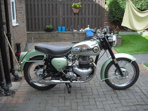 1959 bsa shooting star NOW SOLD