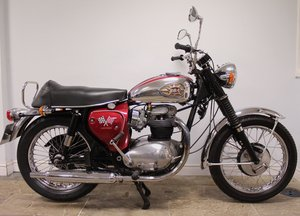 1966 BSA A65 Lightning 650cc Twin  BEAUTIFUL  SOLD