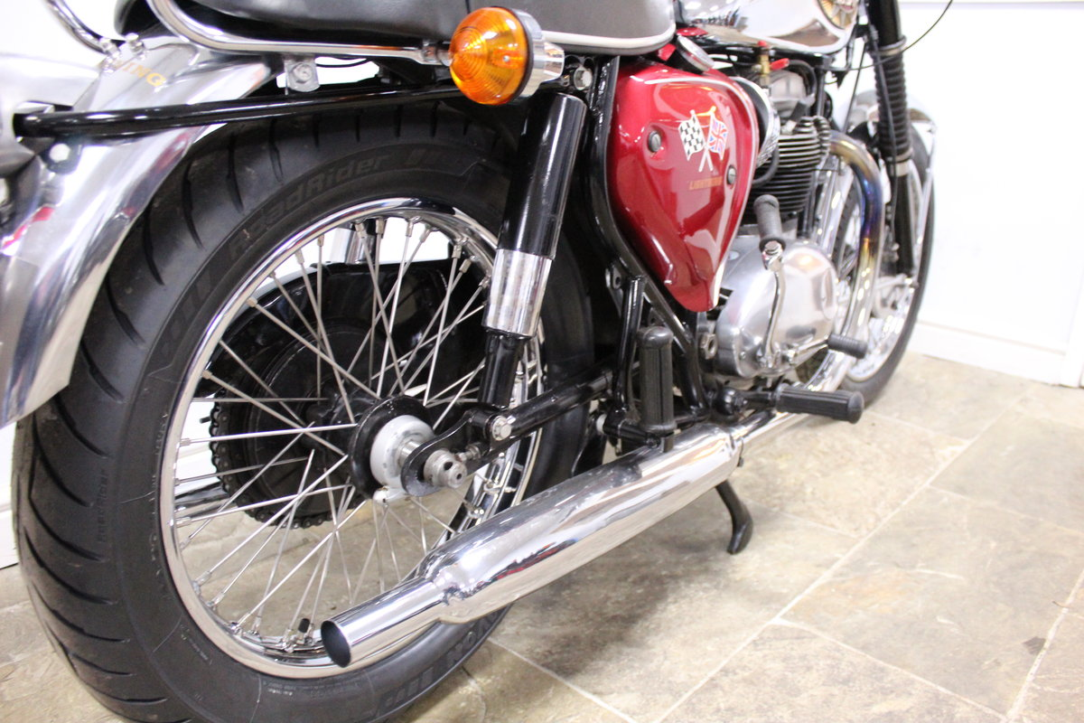 1966 BSA A65 Lightning 650cc Twin  BEAUTIFUL  SOLD (picture 5 of 6)