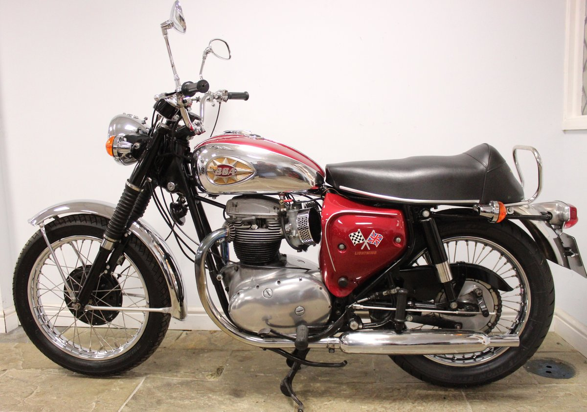 1966 BSA A65 Lightning 650cc Twin  BEAUTIFUL  SOLD (picture 6 of 6)