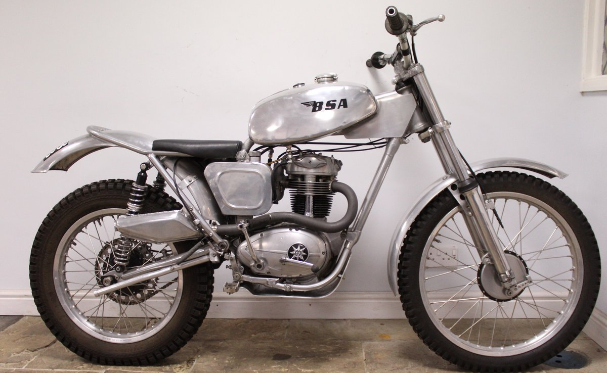 1960 BSA C15 Trials Bike Twin Shock Pre 65 road registered For Sale (picture 1 of 6)