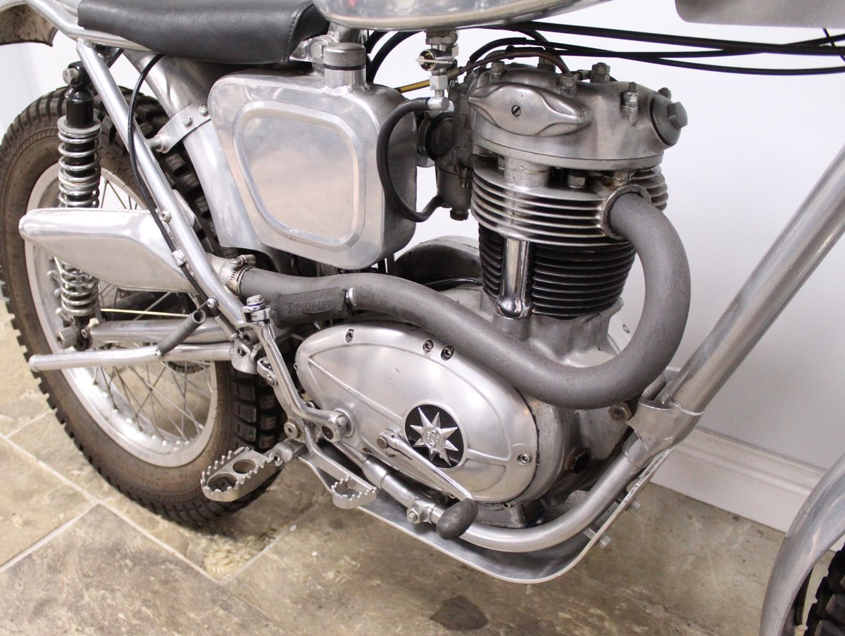 1960 BSA C15 Trials Bike Twin Shock Pre 65 road registered For Sale (picture 3 of 6)