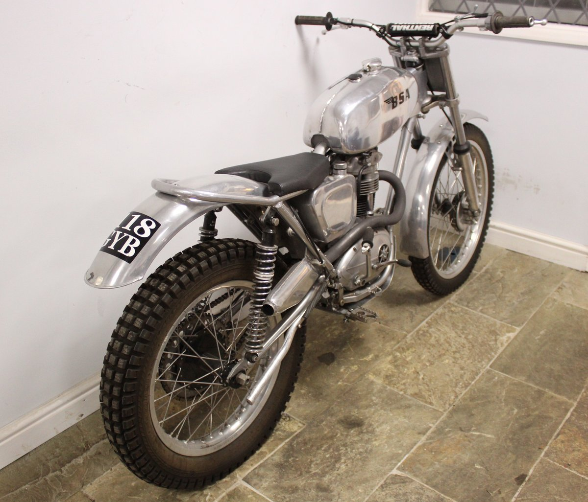 1960 BSA C15 Trials Bike Twin Shock Pre 65 road registered For Sale (picture 5 of 6)