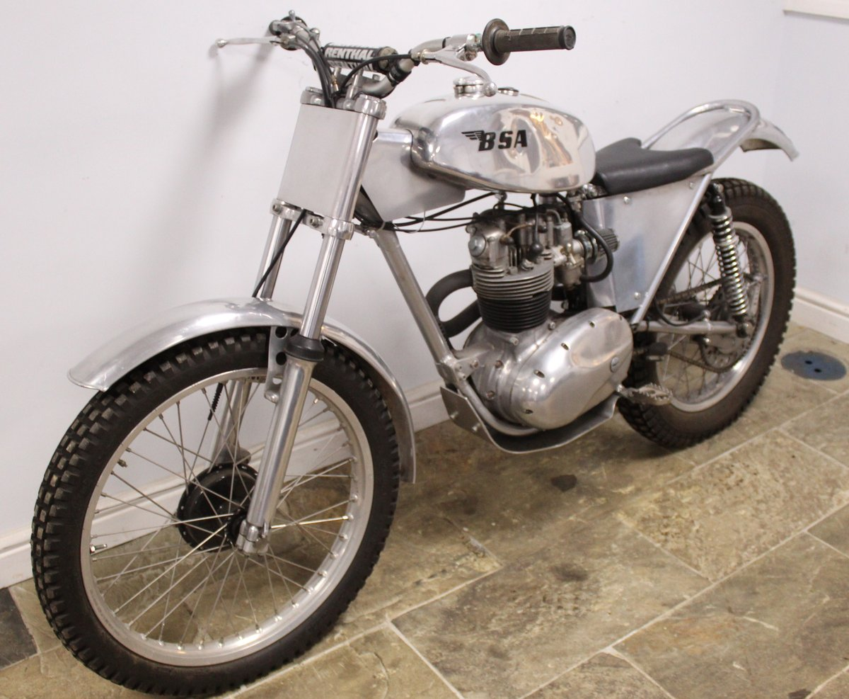 1960 BSA C15 Trials Bike Twin Shock Pre 65 road registered For Sale (picture 6 of 6)