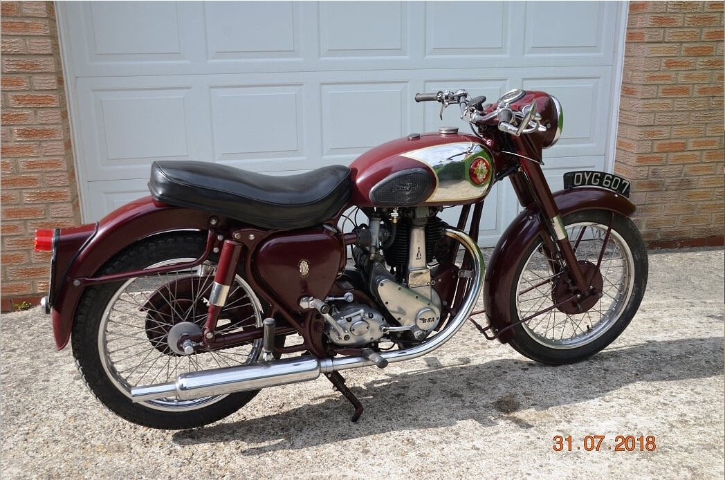 1955 Bsa b31 350cc For Sale (picture 1 of 4)
