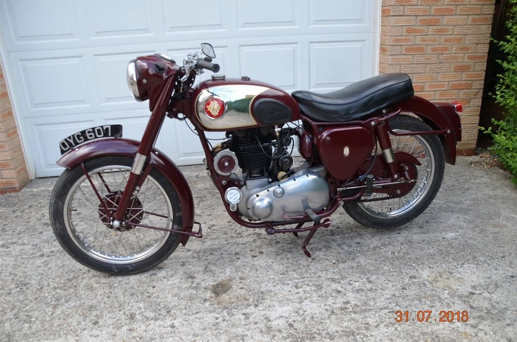 1955 Bsa b31 350cc For Sale (picture 2 of 4)
