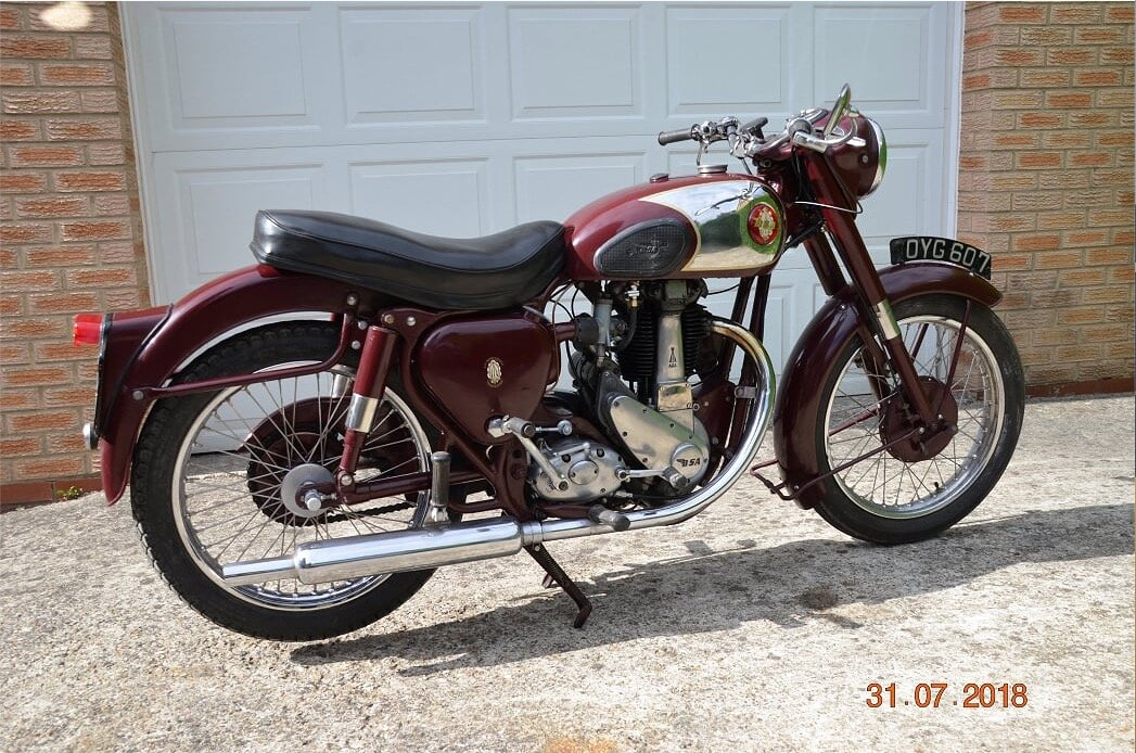 1955 Bsa b31 350cc For Sale (picture 3 of 4)