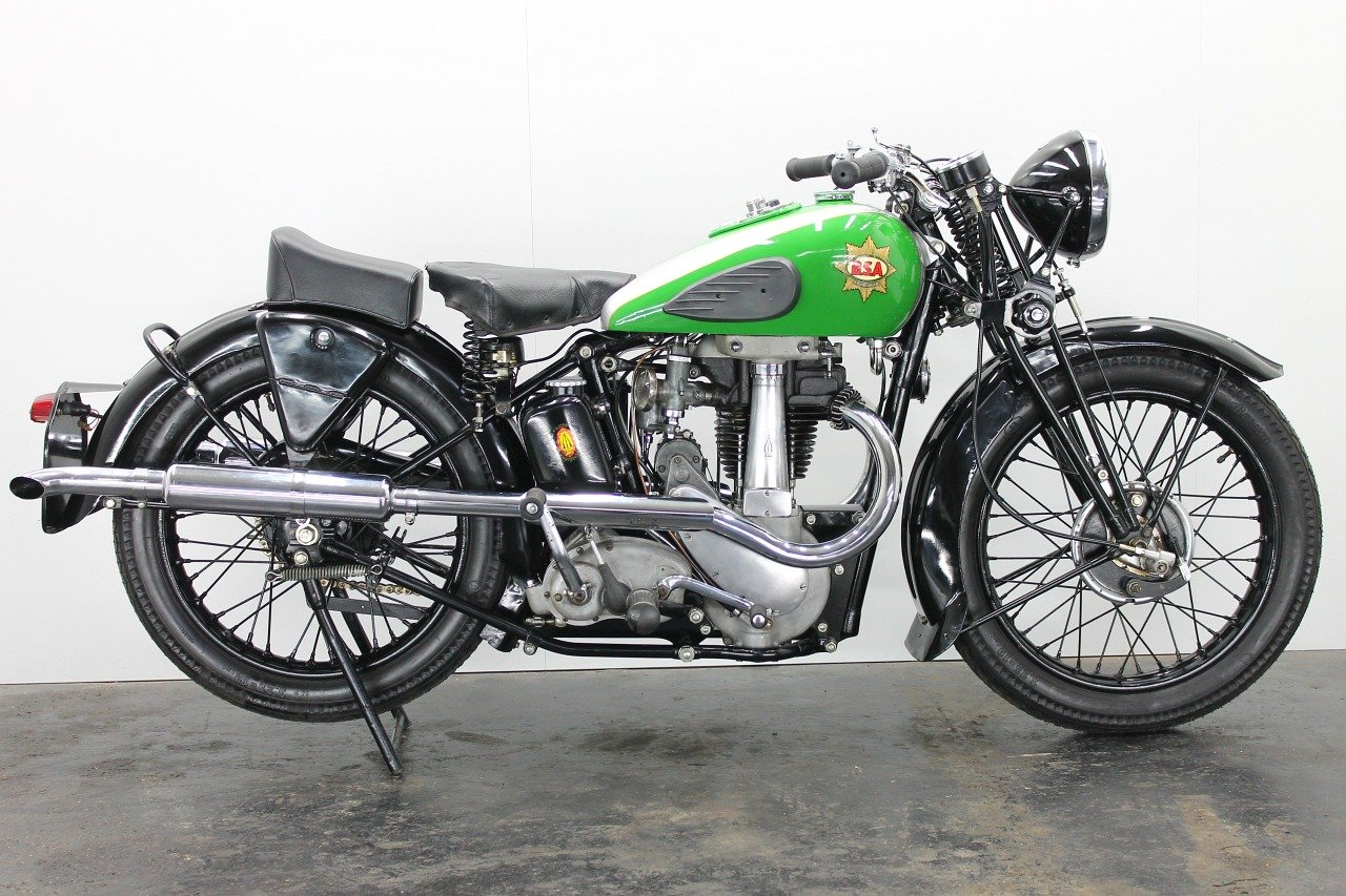 BSA M23 Empire Star 1937 500cc 1 cyl ohv For Sale (picture 1 of 6)