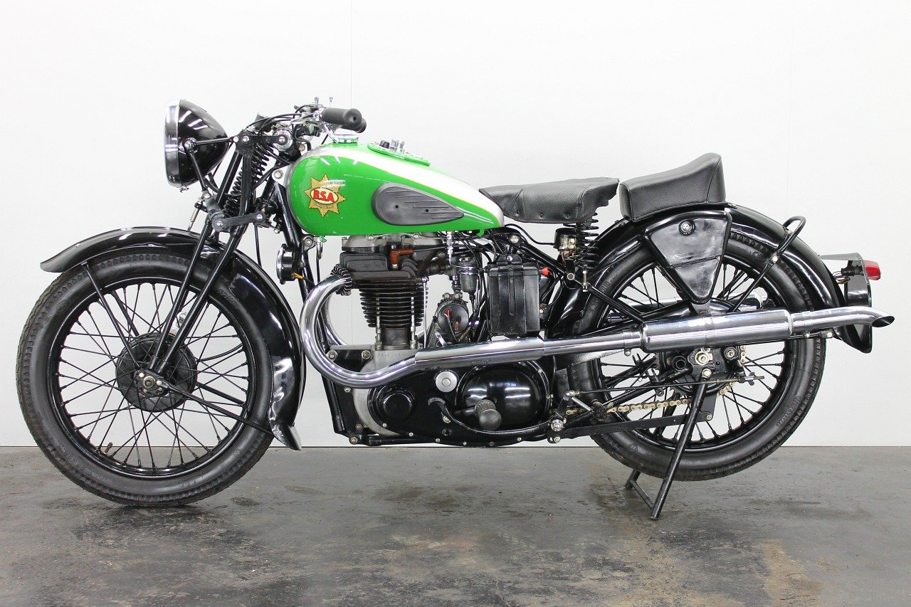 BSA M23 Empire Star 1937 500cc 1 cyl ohv For Sale (picture 2 of 6)