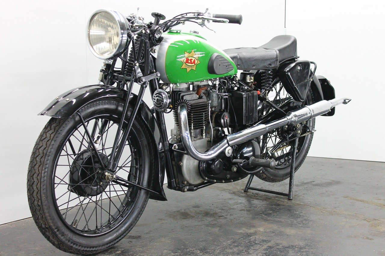 BSA M23 Empire Star 1937 500cc 1 cyl ohv For Sale (picture 3 of 6)