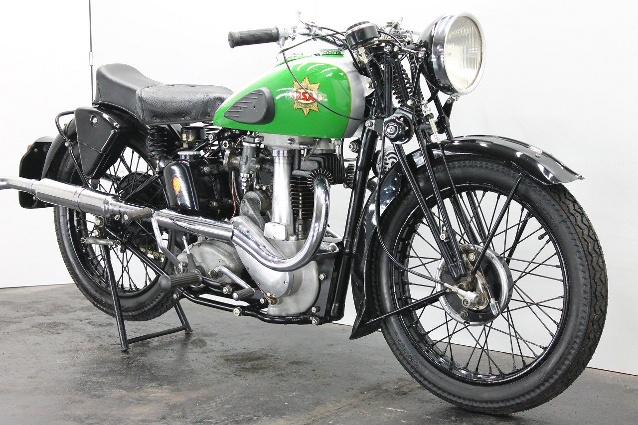 BSA M23 Empire Star 1937 500cc 1 cyl ohv For Sale (picture 4 of 6)