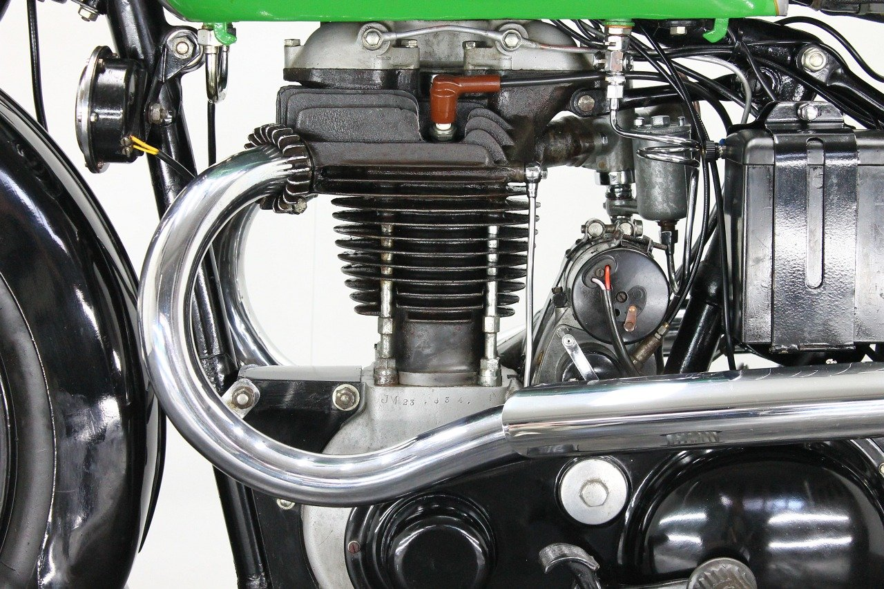 BSA M23 Empire Star 1937 500cc 1 cyl ohv For Sale (picture 6 of 6)