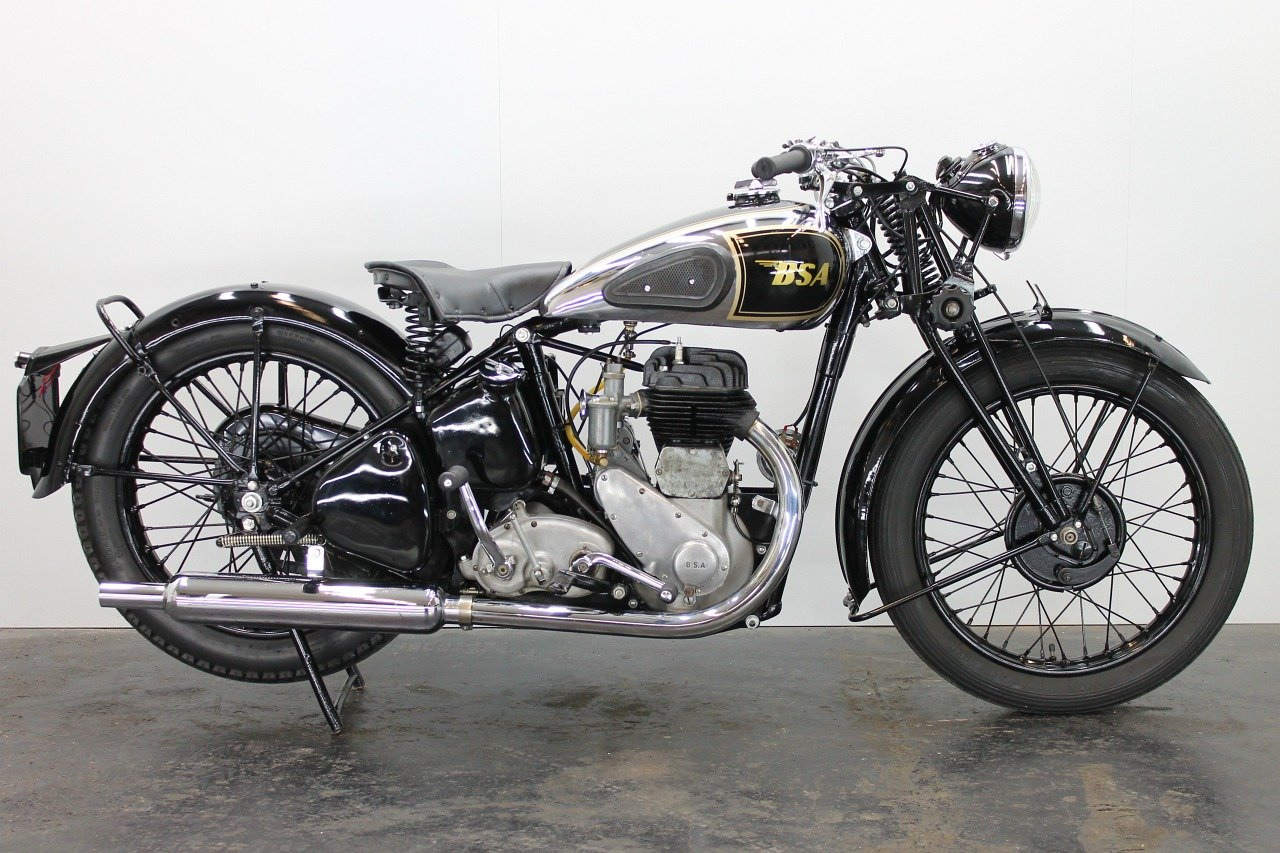 BSA M20 1944 500cc 1 cyl sv For Sale (picture 1 of 6)