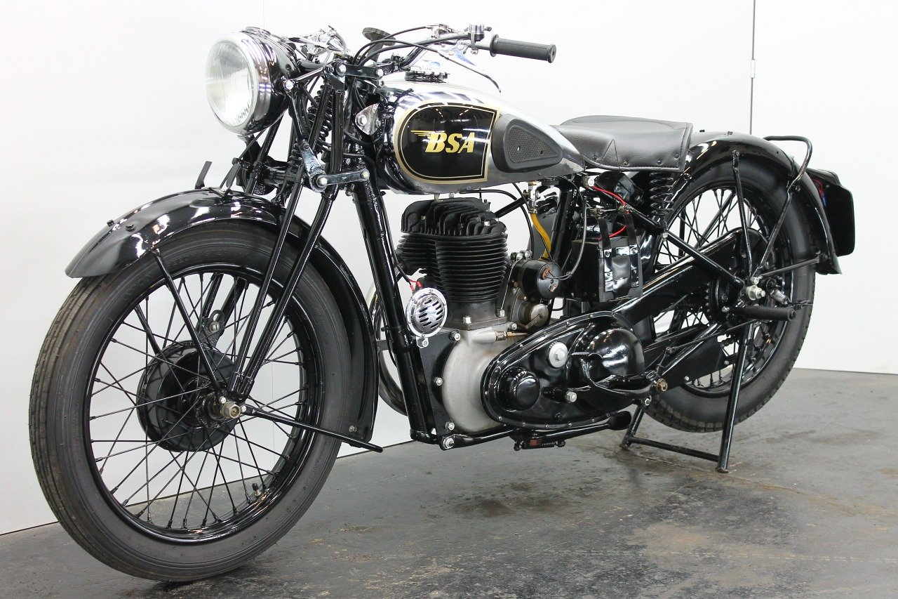 BSA M20 1944 500cc 1 cyl sv For Sale (picture 3 of 6)