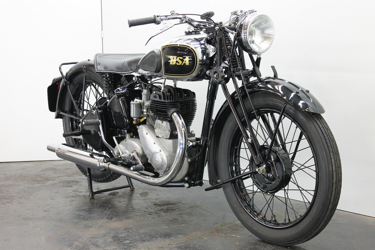 BSA M20 1944 500cc 1 cyl sv For Sale (picture 4 of 6)