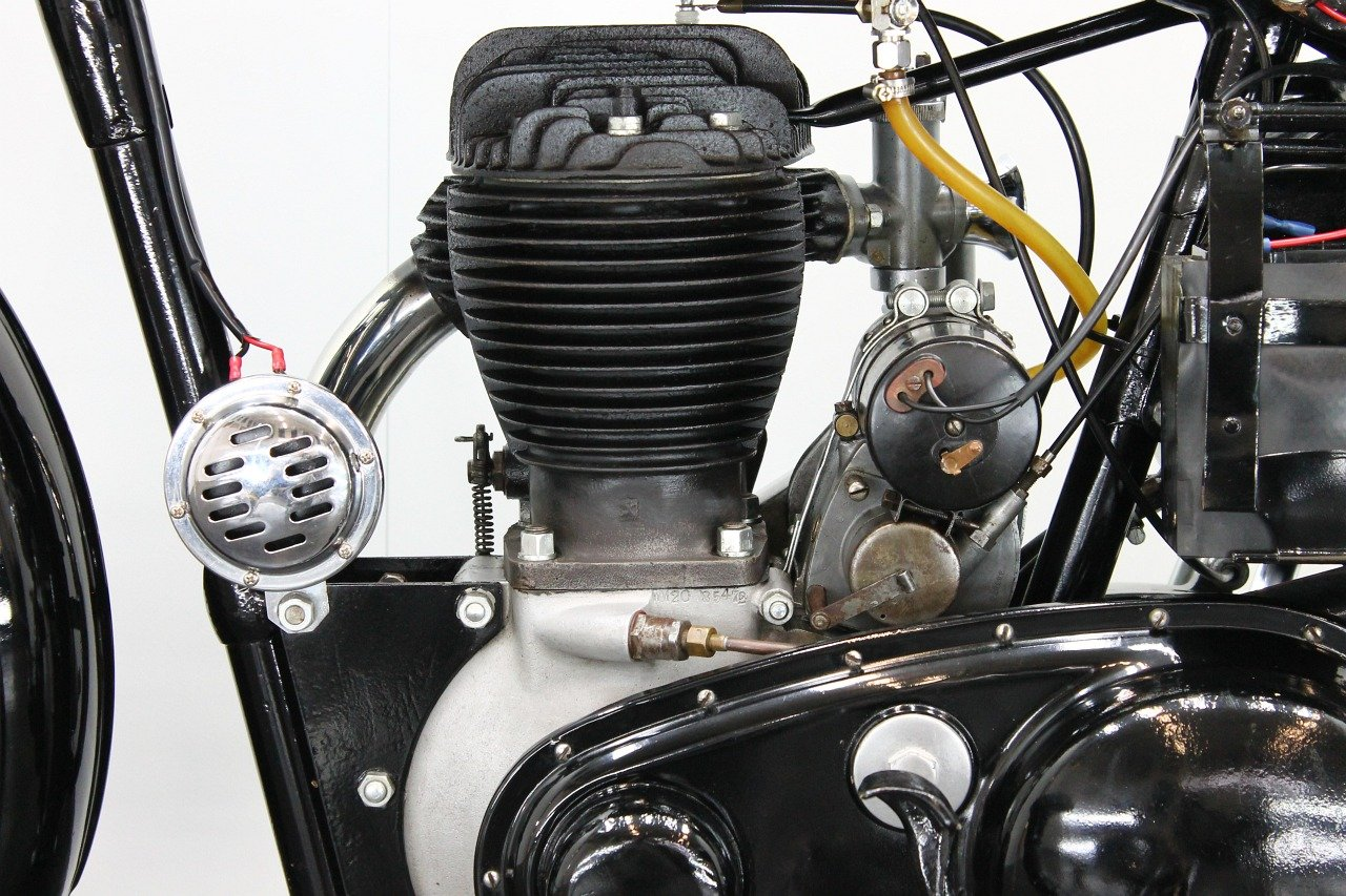 BSA M20 1944 500cc 1 cyl sv For Sale (picture 6 of 6)
