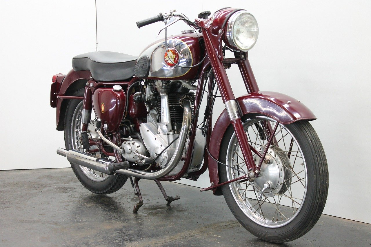 BSA B33 1957 500cc 1 cyl ohv For Sale (picture 4 of 6)