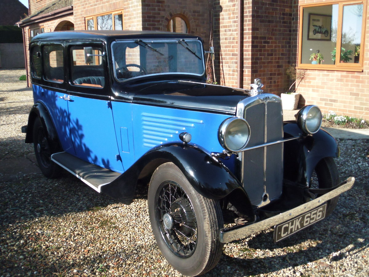 1935 B S A  saloon in super restored condition SOLD (picture 1 of 6)