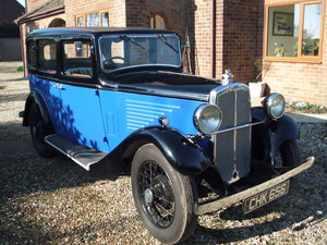 1935 B S A  saloon in super restored condition For Sale