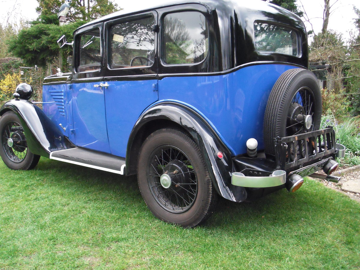 1935 B S A  saloon in super restored condition SOLD (picture 2 of 6)