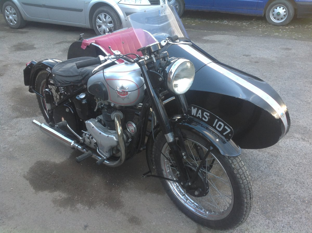 1952 A7 plunger / sidecar For Sale (picture 1 of 6)