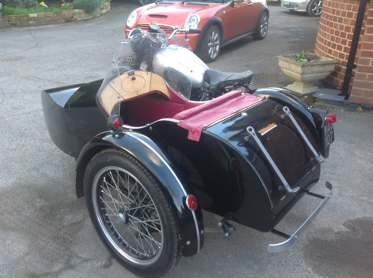1952 A7 plunger / sidecar For Sale (picture 2 of 6)