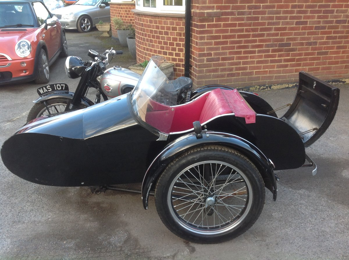 1952 A7 plunger / sidecar For Sale (picture 5 of 6)