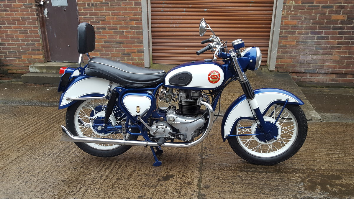 1959 BSA CA10 R 650 Super Rocket 1-off special  For Sale (picture 1 of 6)