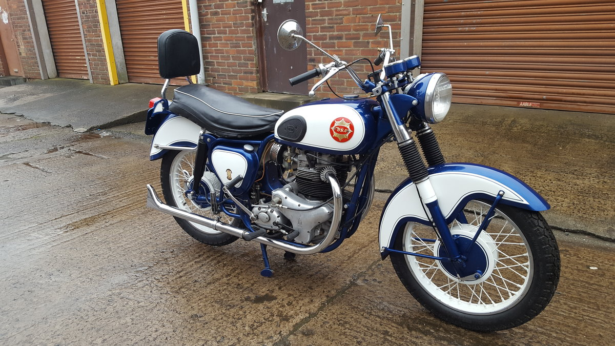 1959 BSA CA10 R 650 Super Rocket 1-off special  For Sale (picture 2 of 6)