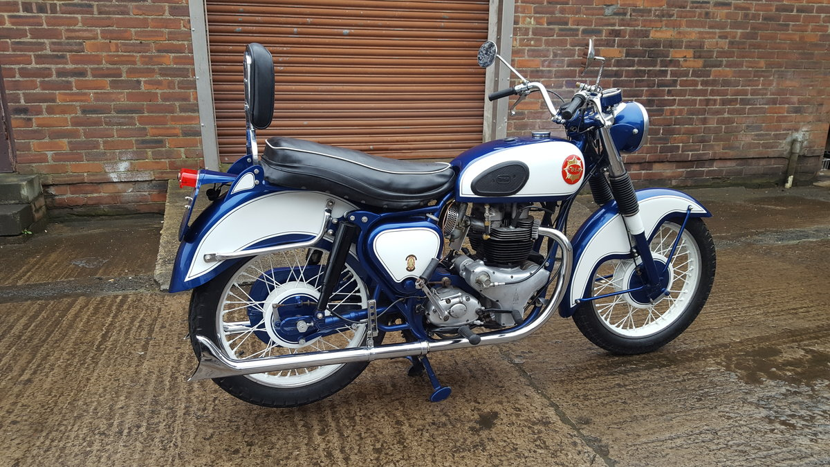 1959 BSA CA10 R 650 Super Rocket 1-off special  For Sale (picture 3 of 6)