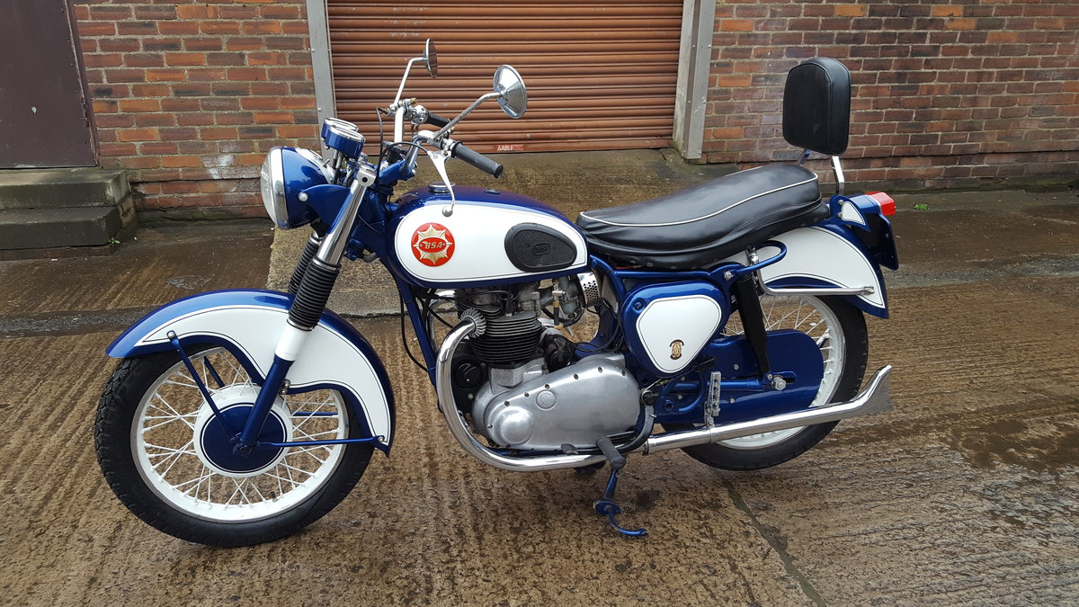 1959 BSA CA10 R 650 Super Rocket 1-off special  For Sale (picture 5 of 6)