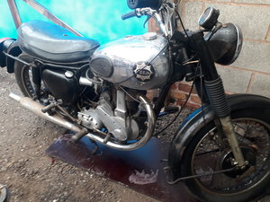 1954 BSA B31 350cc good runner