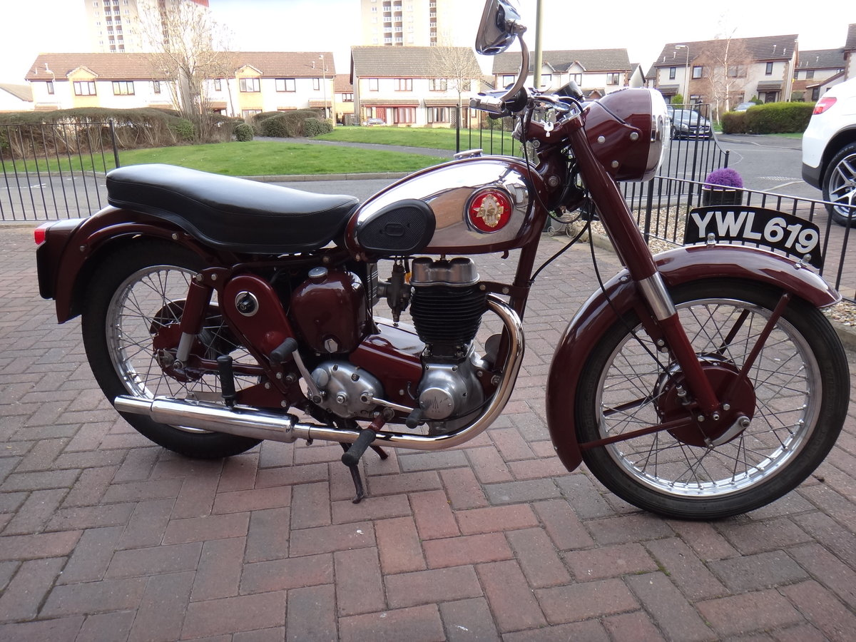 BSA C12 1955 SOLD (picture 1 of 6)