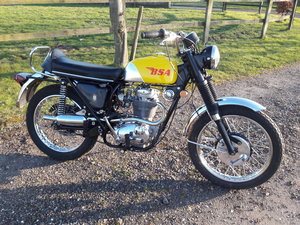 1968 BSA B441 Victor Special. Fully Restored