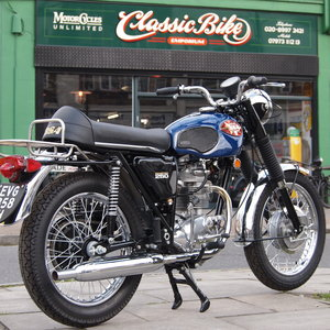 1970 BSA B25 S Starfire As Seen At Stafford Show, Like New. SOLD
