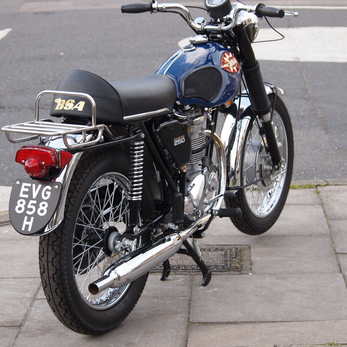 1970 BSA B25 S Starfire As Seen At Stafford Show, Like New. SOLD (picture 4 of 6)