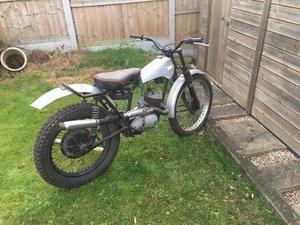 1956 pre 65  bsa bantam tials bike