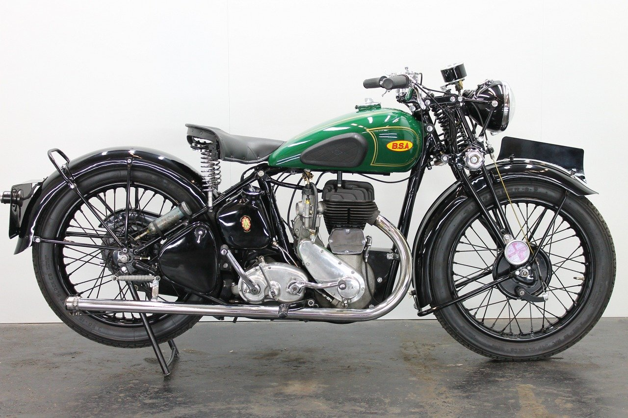 BSA M20 1942 500cc 1 cyl sv For Sale (picture 1 of 6)