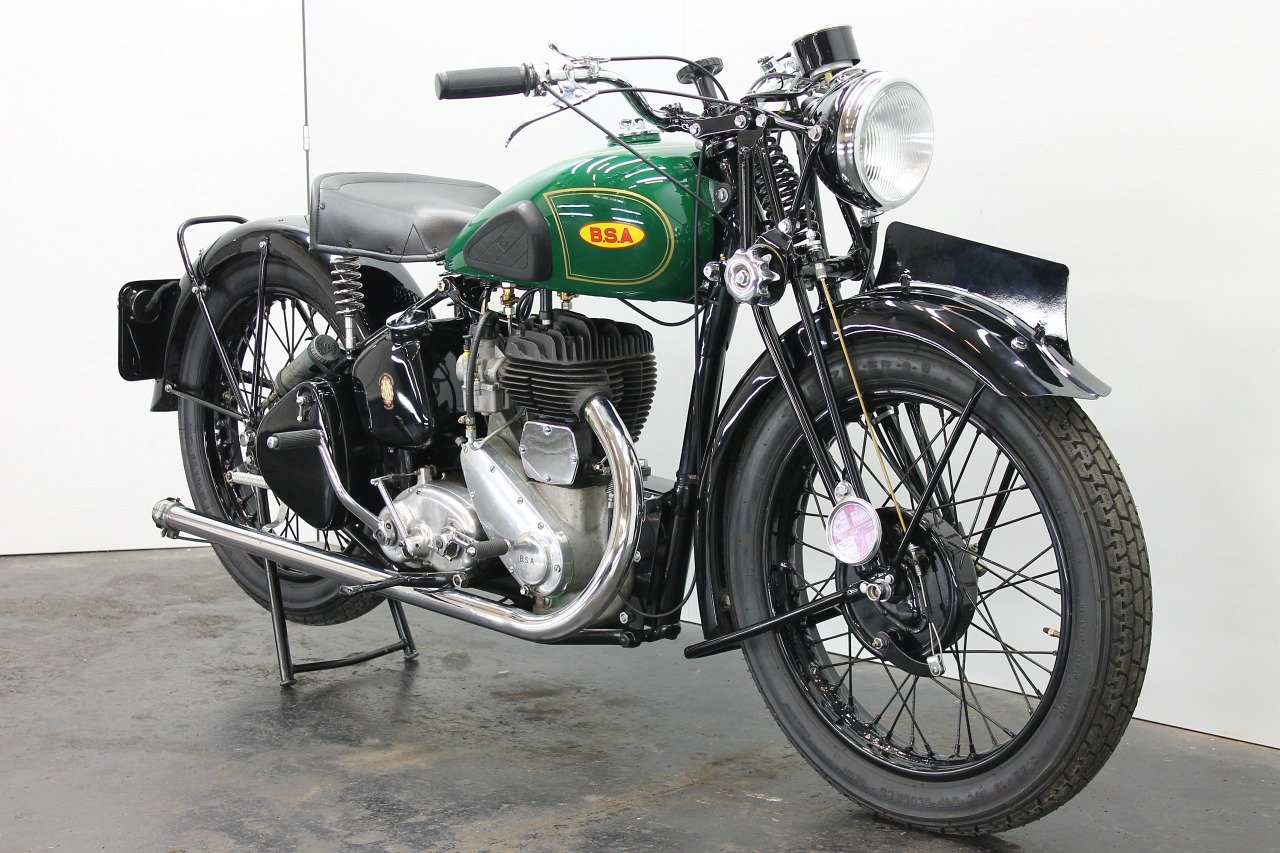 BSA M20 1942 500cc 1 cyl sv For Sale (picture 3 of 6)