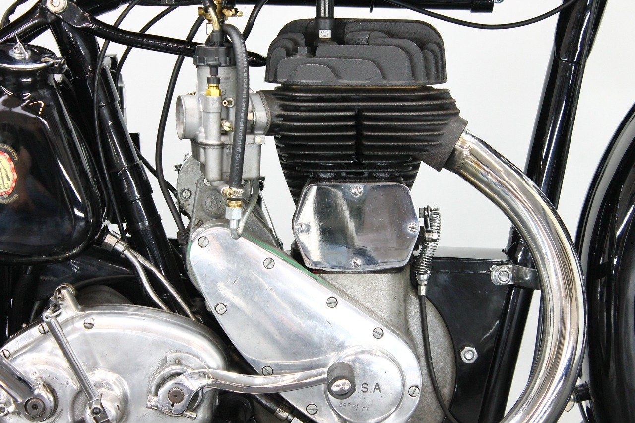 BSA M20 1942 500cc 1 cyl sv For Sale (picture 5 of 6)