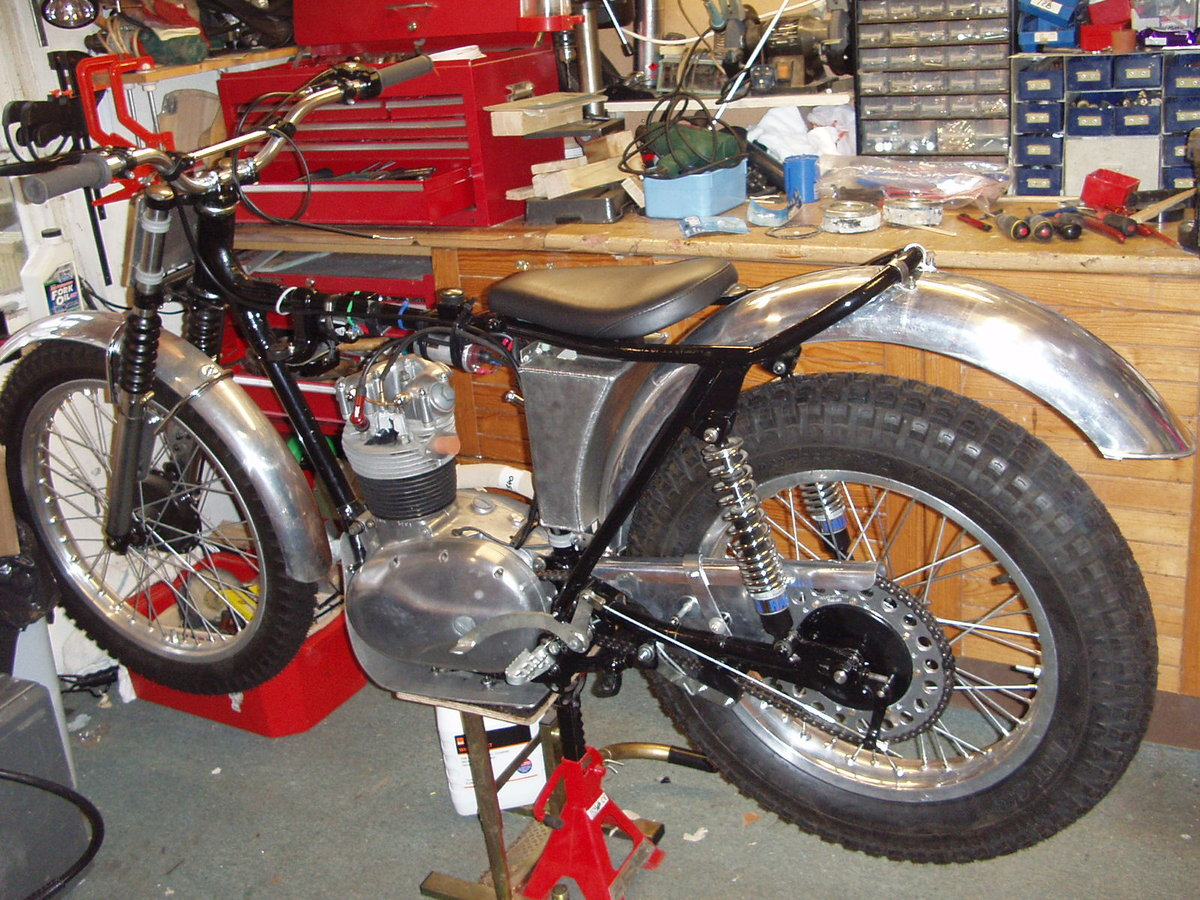 1966 C15 BSA trials For Sale (picture 4 of 6)