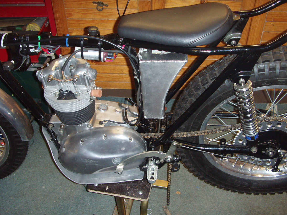1966 C15 BSA trials For Sale (picture 5 of 6)