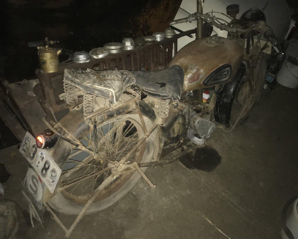 1943 BSA 500cc wm20 m20 For Sale | Car And Classic