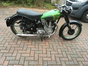 BSA B31 PLUNGER 1952 For Sale