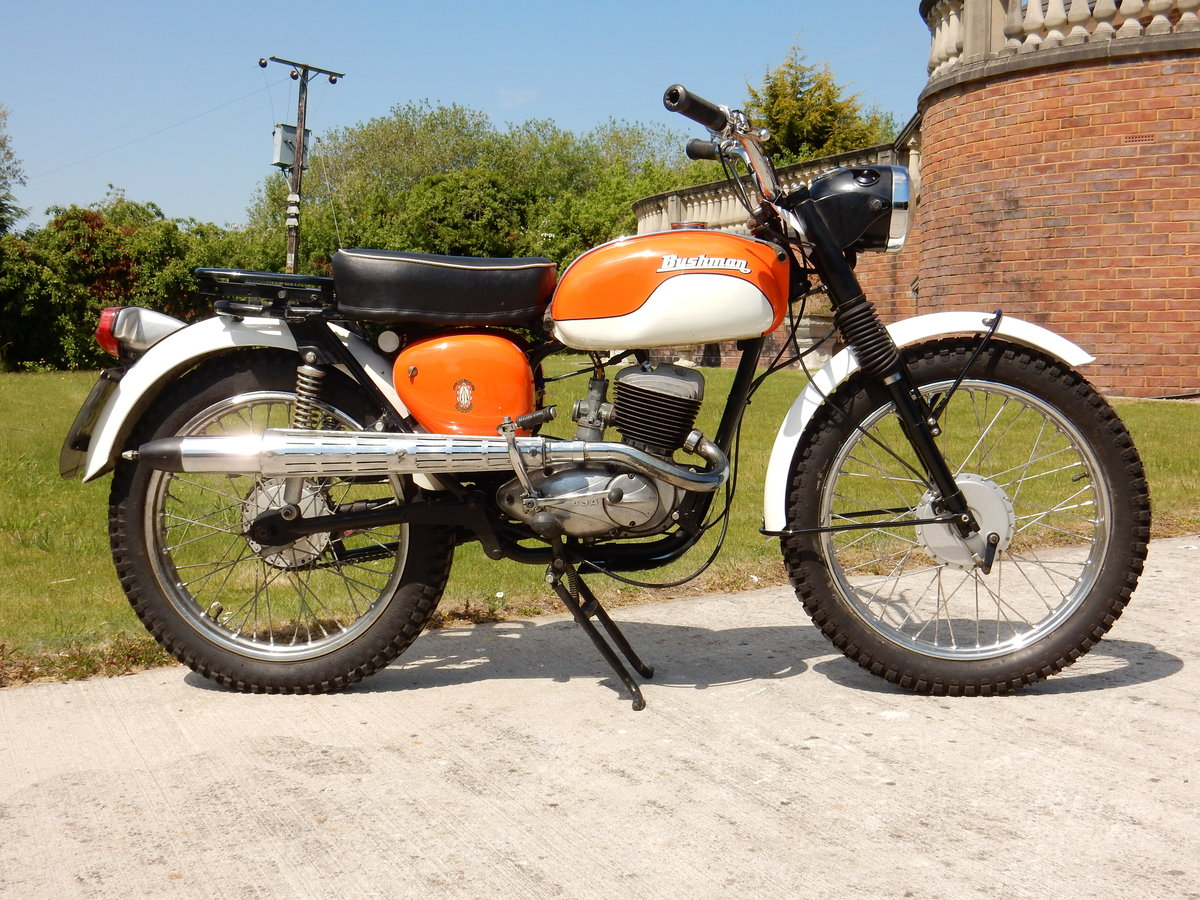 BSA BANTAM BUSHMAN PASTORAL 1967 175cc MATCHING NUMBERS For Sale (picture 1 of 2)