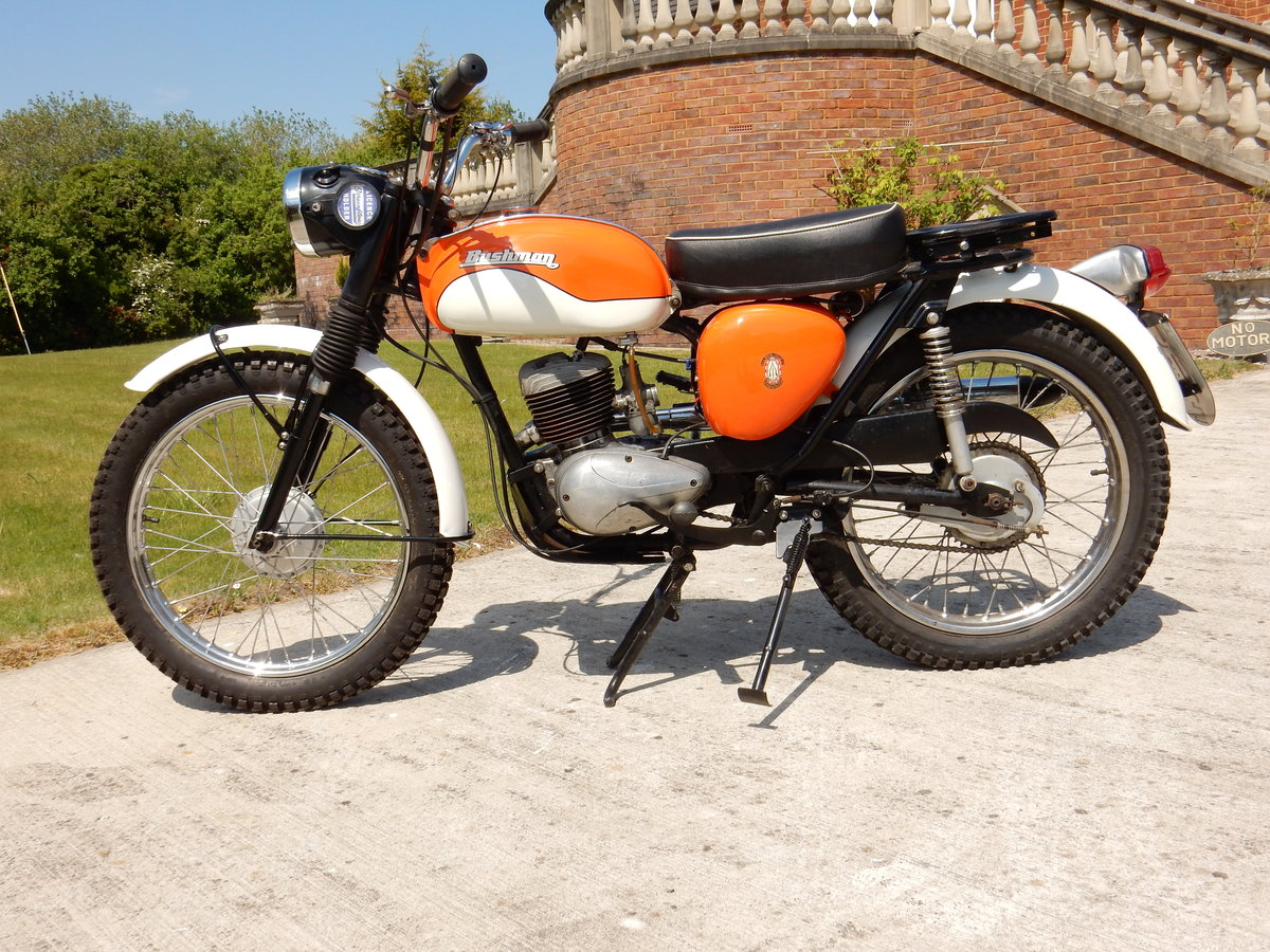 BSA BANTAM BUSHMAN PASTORAL 1967 175cc MATCHING NUMBERS For Sale (picture 2 of 2)