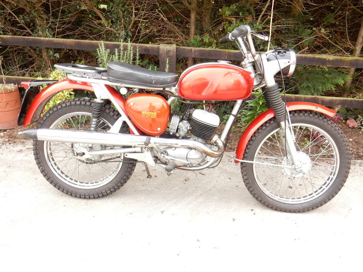 BSA BANTAM 175cc 1971  For Sale (picture 1 of 2)